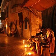 Presepe vivente 2011 nel centro storico di Trani