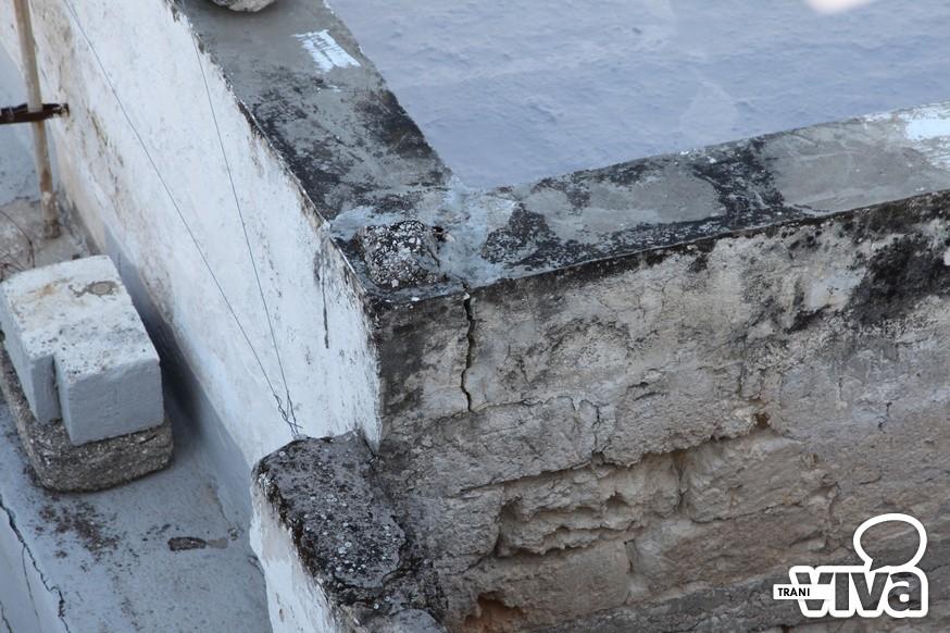Trani crepe nei muri paura in via alvarez - Crepe nei muri interni pericolose ...