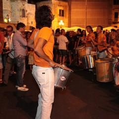 Bandita on stage sul porto di Trani