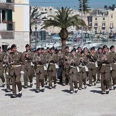 Conferimento cittadinanza onoraria di Trani al IX reggimento fanteria Bari