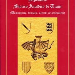 La copertina del secondo volume del Dizionario storico araldico di Trani