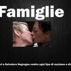 Famiglie, su Facebook il messaggio di Negrogno e Ferreri contro razzismo e discriminazione