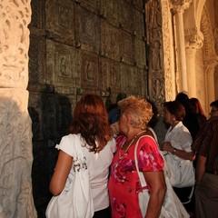 Inaugurazione portale in bronzo della Cattedrale di Trani
