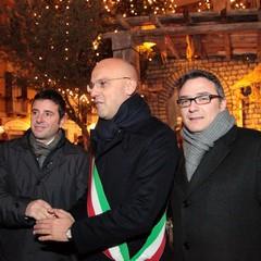 Inaugurazione del presepe 2012 in piazza della Libertà