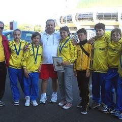 I ragazzi della Judo Trani ad Ostia