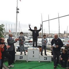 Premiazione Optimist del campionato zonale 2012