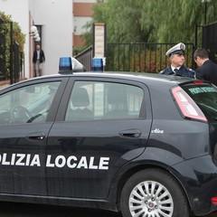 Polizia Locale in azione presso gli uffici provinciali