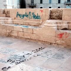 Nuovo atto vandalico contro la Cattedrale di Trani