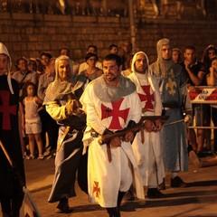 La fine dei Templari: il corteo e il rogo