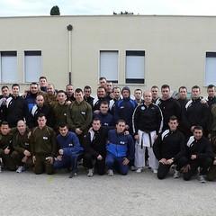 """Corso di Karate al 9° Reggimento Fanteria """"Bari"""" di Trani"""