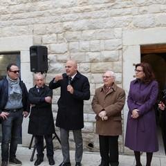 Cerimonia per la riattivazione delle campane del Castello di Trani