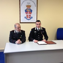 Conferenza stampa Carabinieri Trani