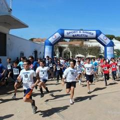 La corsa campestre organizzata dalla Tommaso Assi a Trani