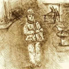 Dardo, piccolo nomade