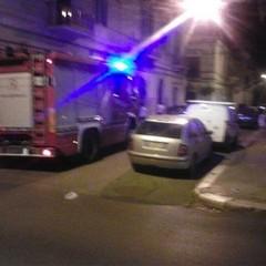 Vigili del Fuoco in via Maiorano