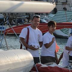 A Trani la barca della Fidas. Con Stefano Scarpa