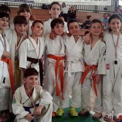 I piccoli della Judo Trani