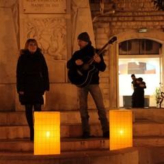 M'illumino di meno, a Trani si spegne piazza della Libertà