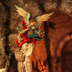Il presepe nella chiesa di San Rocco