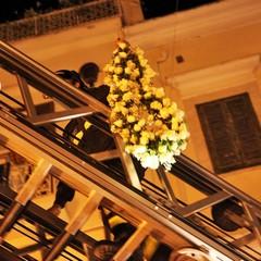 Omaggio floreale alla Madonna Immacolata