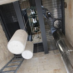 Meccanismi di orologio e campane del Castello di Trani