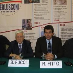Incontro Pdl a Trani con Raffaele Fitto