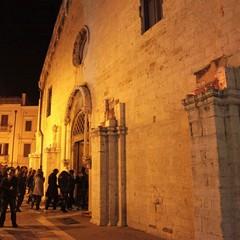 Giovedì Santo a Trani, chiesa di San Francesco