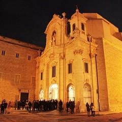 Giovedì Santo a Trani, chiesa di Santa Teresa