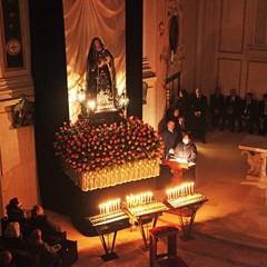 Giovedì Santo a Trani, adorazione dell'Addolorata