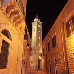 Il campanile della Cattedrale di Trani