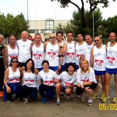Gli atleti Trani Marathon a Trinitapoli