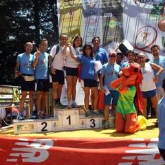 Premiazione Trail 5 Querce a Gravina in Puglia