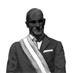 Dardo: Nero in volto