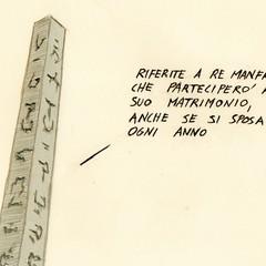 Il matrimonio e l'obelisco