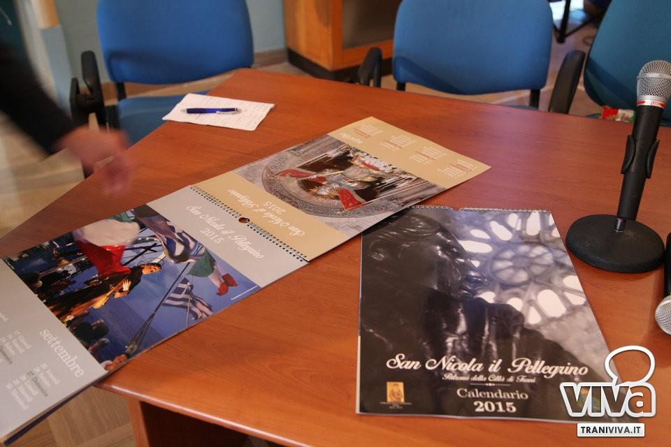 San Nicola Calendario.Trani Presentato Il Calendario 2015 Dedicato A San Nicola
