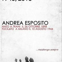 Hastarci, una targa e una strada per il partigiano Andrea Esposito