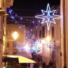 Luminarie in via Lagalante