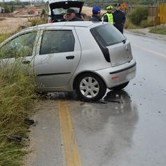 Incidente auto sulla Andria - Trani