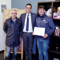 Boccaforno a Palazzo di Città con il sindaco Bottaro