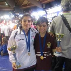 Judo Trani, due ori al campionato italiano di lotta libera