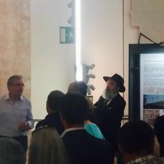 Ambasciatore dello Stato d'Israele in visita a Trani