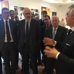 Nuovo polo museale, la visita di Confalonieri e Sugar