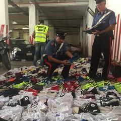 Carabinieri, sequestro al mercato