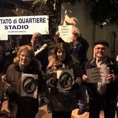 Villa Guastamacchia, il flash mob degli anziani