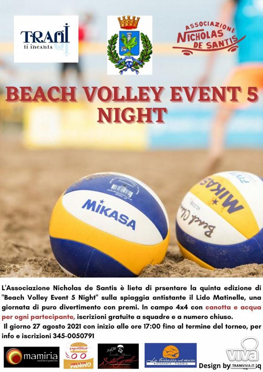 Locandina evento Beach Volley