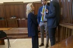 Amedeo Bottaro in tribunale per l'omicidio Zanni