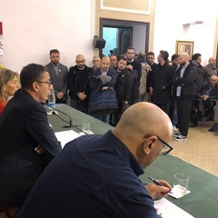 Conferenza ricandidatura Bottaro