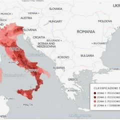 La pericolosità sismica in Italia