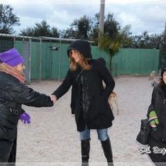 Clara Moroni in visita al Rifugio San Francesco