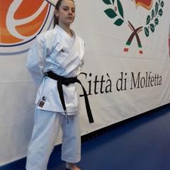 Antonella Biancolillo campionessa regionale di Karate/Kata